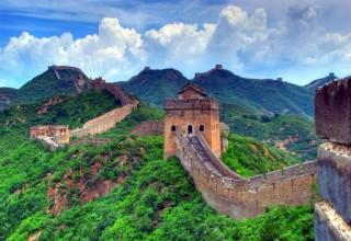 Туристы готовили еду на Великой Китайской стене и подкоптили ее