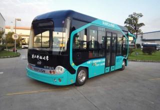 Беспилотные автобусы вышли на дороги Китая