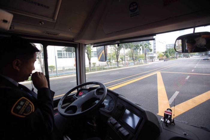 Беспилотные автобусы в Китае