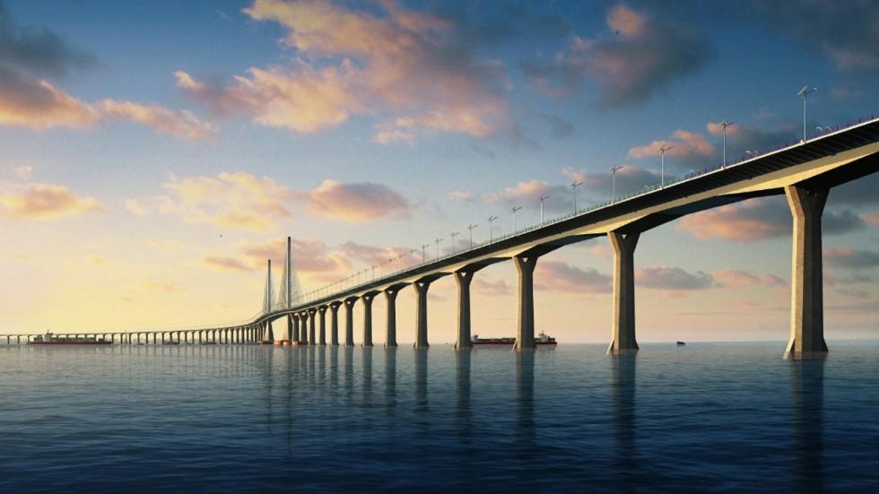 гонконг чжухай макао мост гуандун