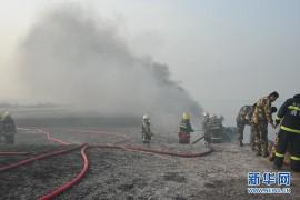 Взрыв нефтепровода в Циндао