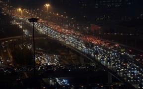 Пробки в Пекине во Всемирный день отказа от автомобилей, 23 сентября