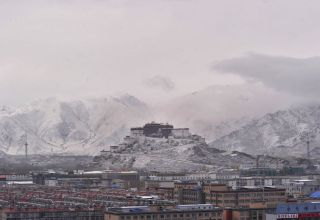 В Тибете запустили программу поддержки зимнего туризма