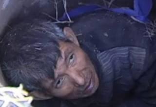 ВИДЕО: Пожилого китайца спасли после 3-дневного заточения в колодце