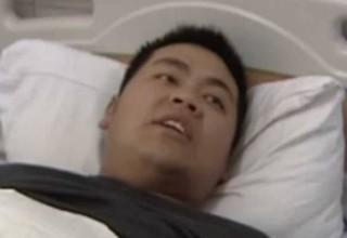 Видео: таксист протащил водителя автобуса по асфальту на 200 метров