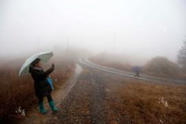 туман в Китае