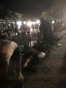 взрыв в аквапарке на Тайване