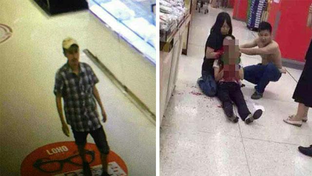 убийство в супермаркете в Китае