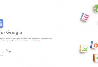 Китай заблокировал сайт новой родительской компании Google