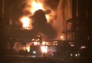 В Китае произошел очередной взрыв на химическом заводе