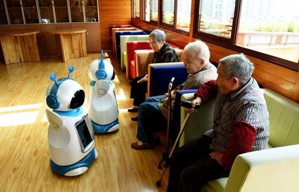 китайские роботы