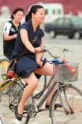 велосипедист в Китае
