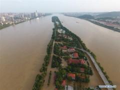 На юге Китая проливные дожди стали причиной масштабных наводнений