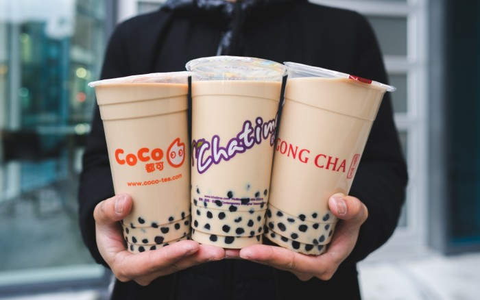 bubble tea 3 brands