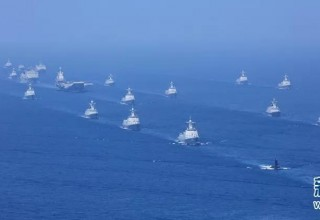 Китай провел крупнейший в своей истории морской парад