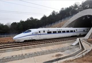 Китай построит свой первый подводный тоннель для высокоскоростных поездов