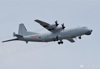 В Китае разбился военный самолет, есть погибшие