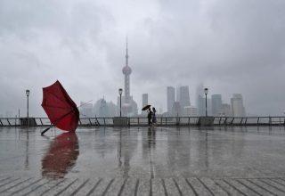 Восточный Китай предупредили о приближении тайфуна «Линлин»