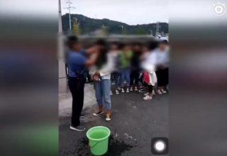В Китае девочек не пускали в школу, пока они не смоют всю косметику