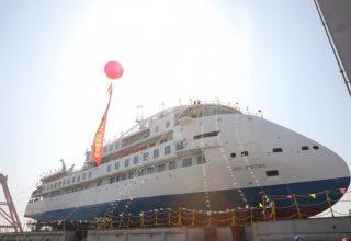 Китай построил свой первый полярный круизный лайнер