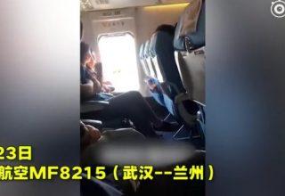 Китаянка открыла аварийный люк на борту самолета, чтобы «подышать свежим воздухом»