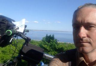 Россиянин за 100 дней доехал на велосипеде из Москвы до Пекина