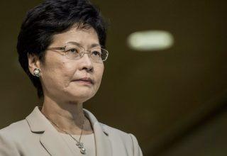 Глава Гонконга прокомментировала информацию о своей отставке