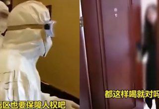 В Китае женщина угрожала нарушить карантин в отеле, если ей не принесут бутылированную воду
