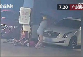 Китаянка разбила 9 машин и повесила компенсацию на парня. Он даже не знал, что состоит в отношениях