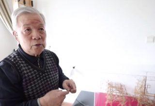 Китайский пенсионер сделал мини-колесницу Терракотовой армии из бамбуковых палочек. Лошади и возничий двигаются