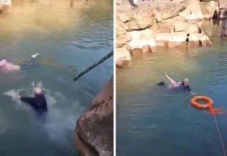 Британский консул в Китае спас тонувшую студентку. Его назвали героем