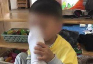 В Китае воспитатель в детском саду заставил ребенка нюхать его ноги. За это мужчину уволили